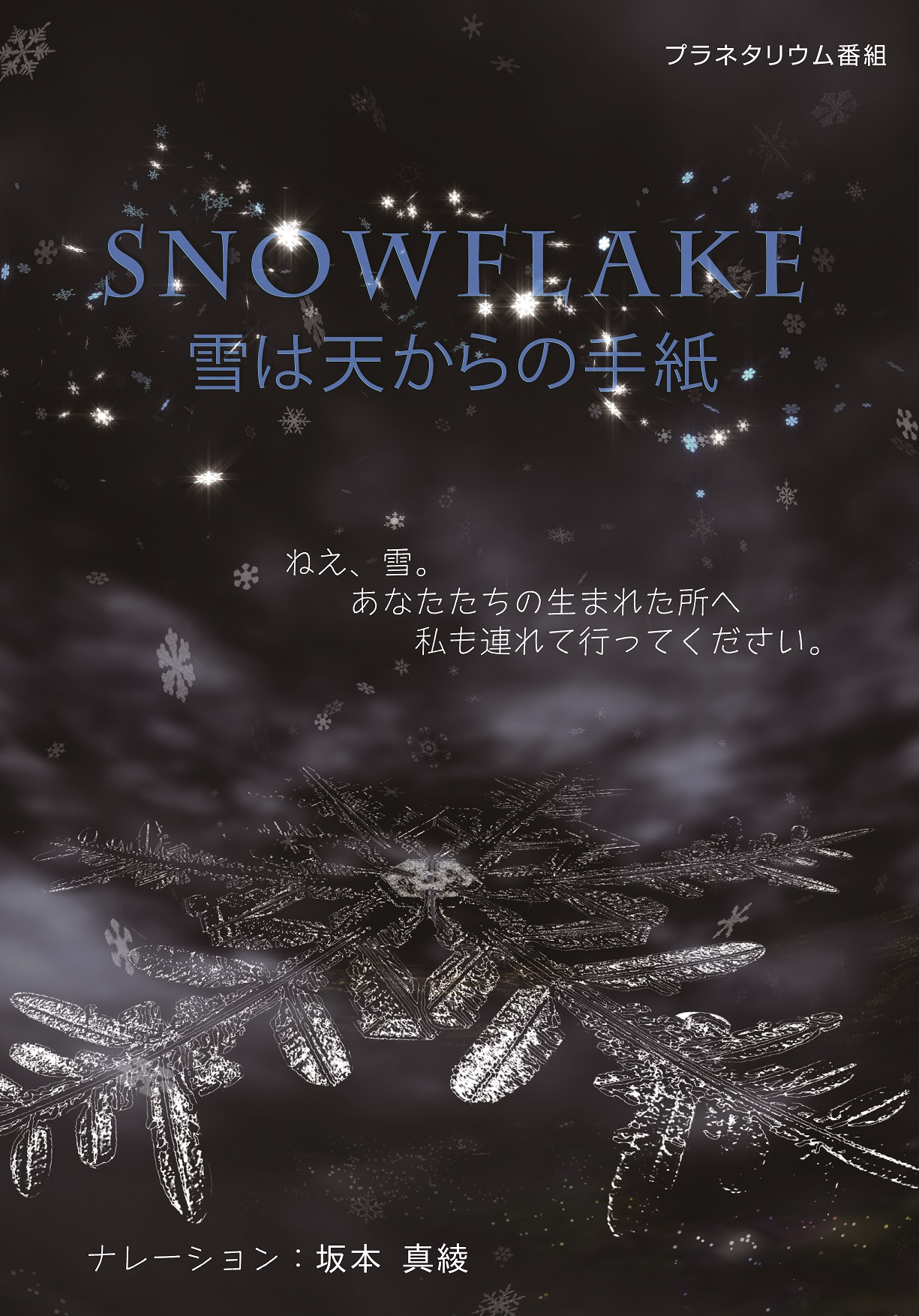 SNOWFLAKE 雪は天からの手紙)
